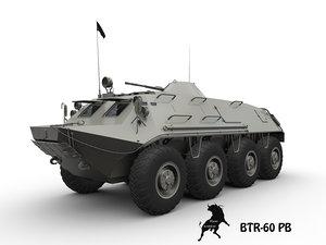 btr tank 3d model