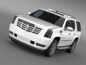 3d cadillac escalade european version