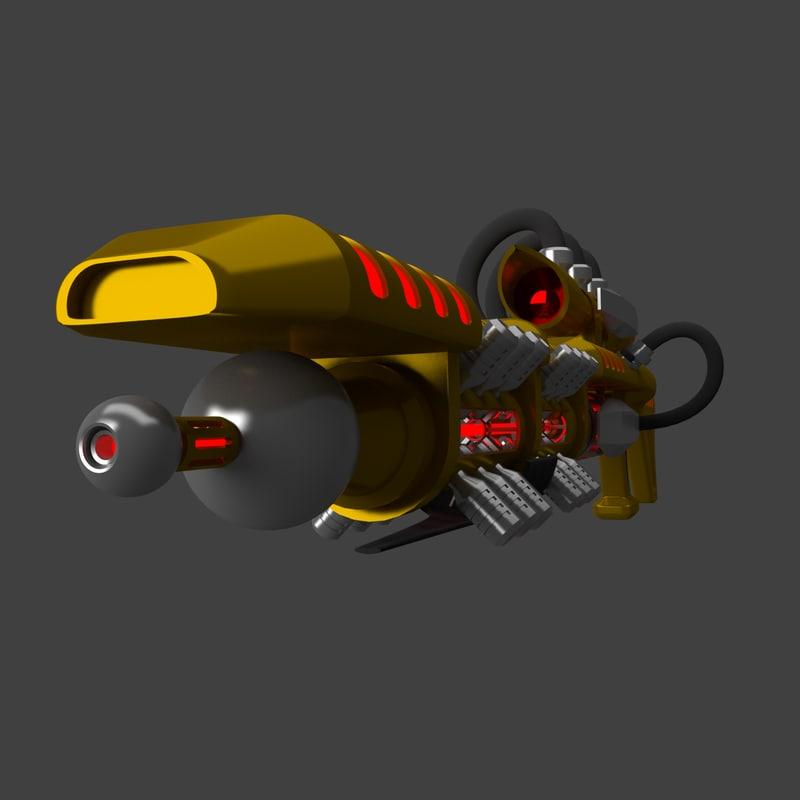 laser rifle energy blend free