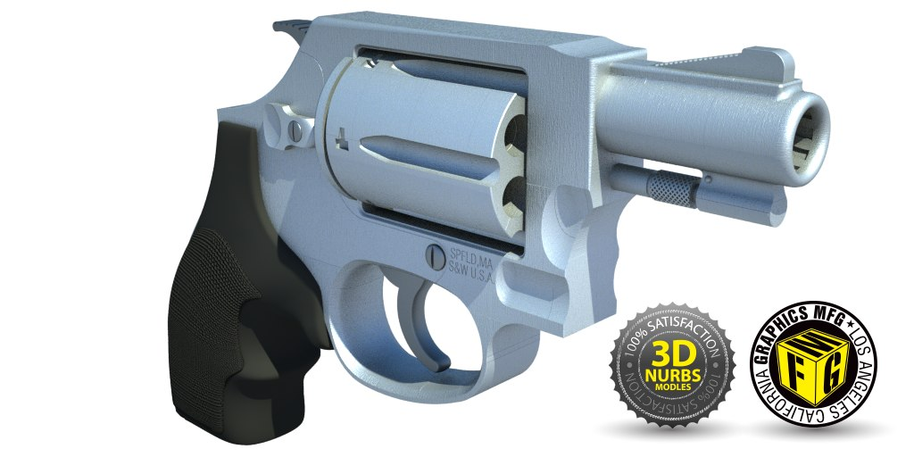 3d 3ds 45 smith wesson