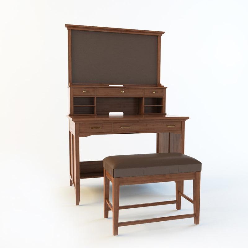 henderson secretary bench max