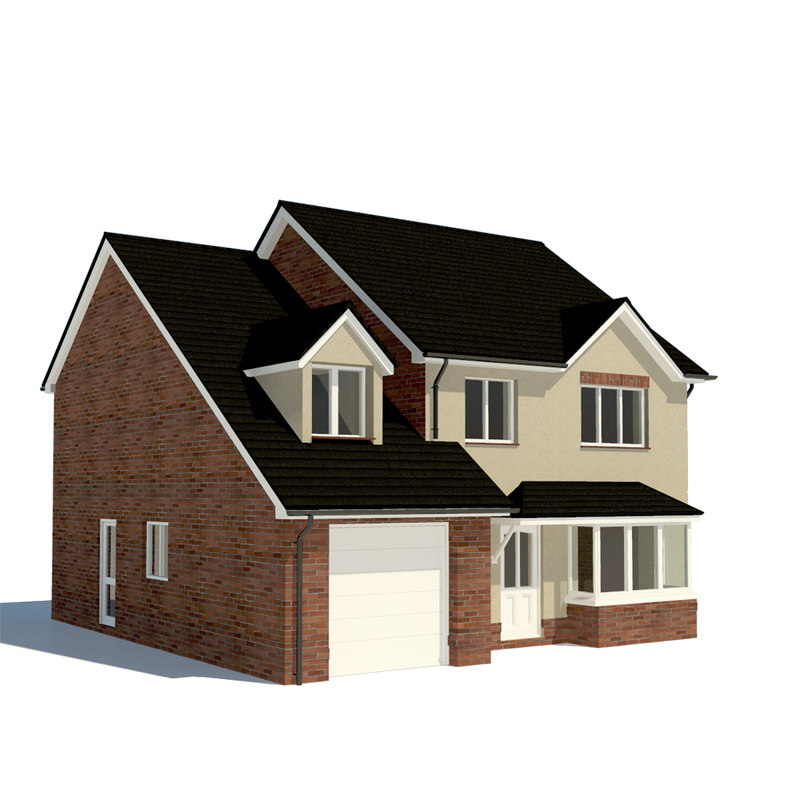 House Home 3d Obj
