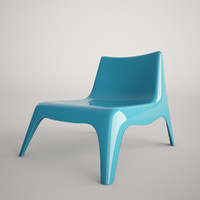 3d ikea vago chair plastic
