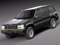 Jeep Grand Cherokee Limited 1993-1998