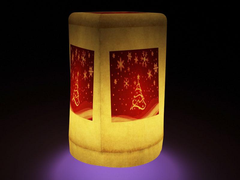 3d light luminair float model