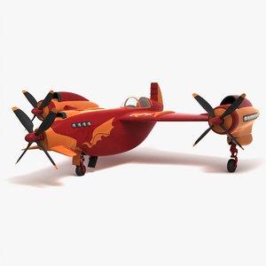 sport aircraft obj