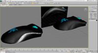free razer deathadder 3d model