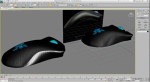 free razer deathadder 3d model
