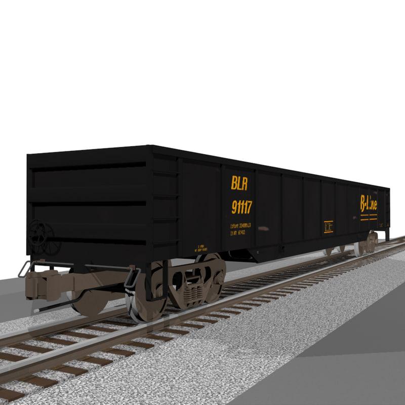 train car gondola