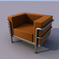 sofa armchair 3d model
