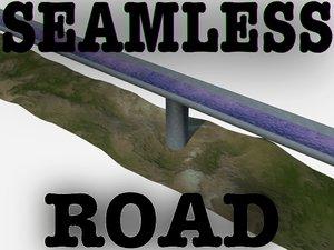 3d model seamless highway