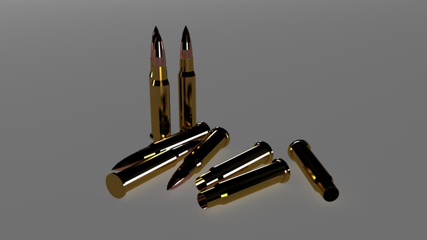 carbine 3d obj