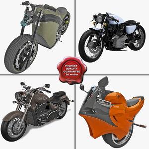 motorcycles 11 3d max