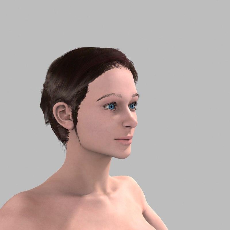 young girl - nadia max