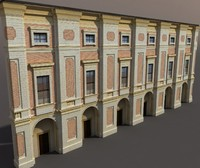 Apartment House # 87 Low poly Modello 3d