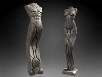 Man Woman statue