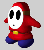 shy guy 3ds