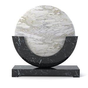 smania moon table 3d model