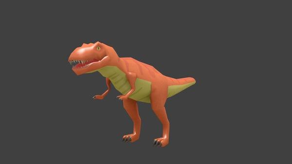 free model t-rex