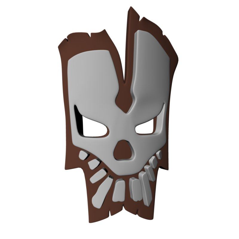 voodoo mask 3d model