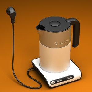 3d water kettle