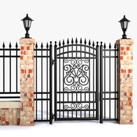 max wrought iron gate