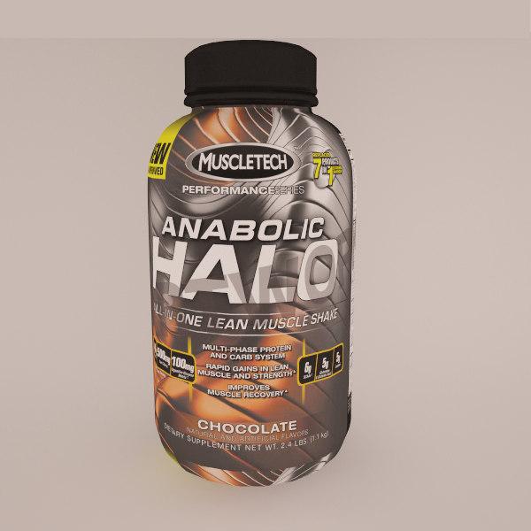 anabolic halo 3d model