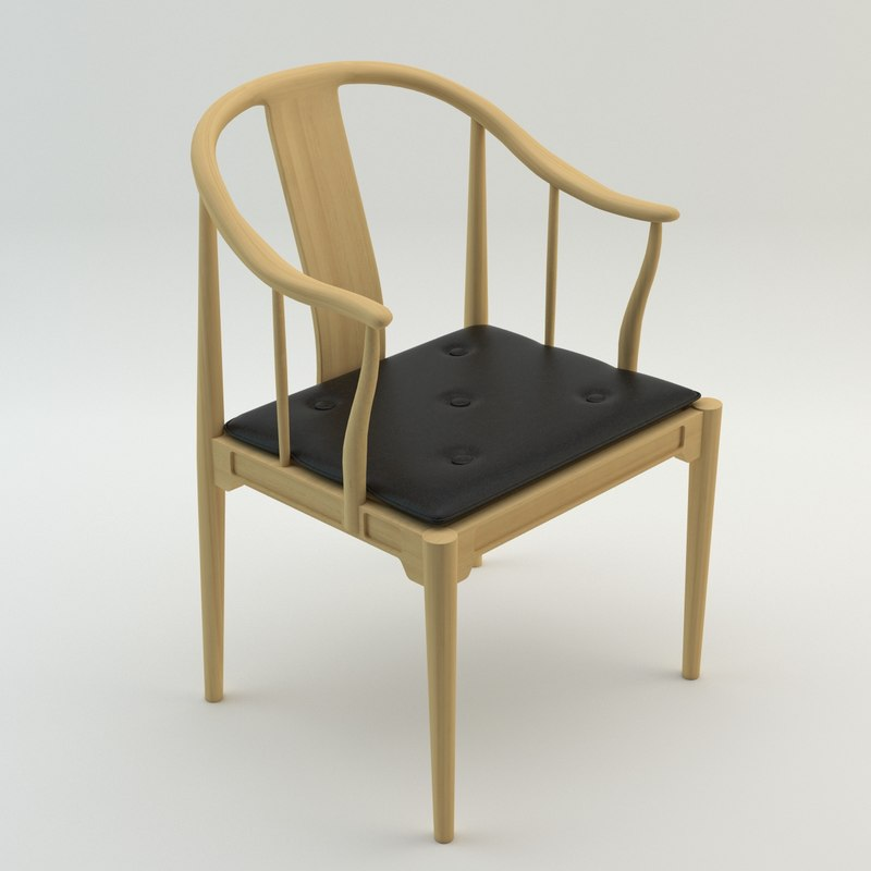 3d model of china chair