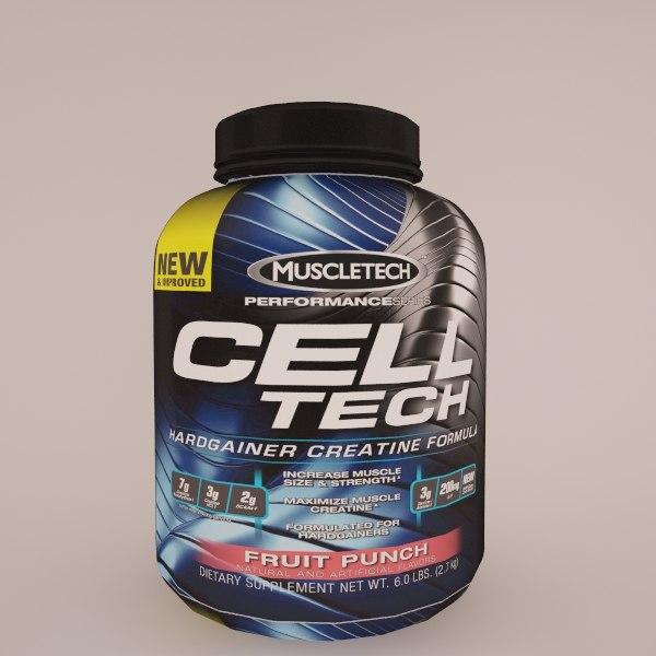 3d cell-tech muscletech model