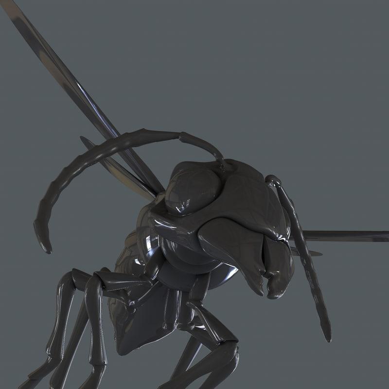 3d model hornet