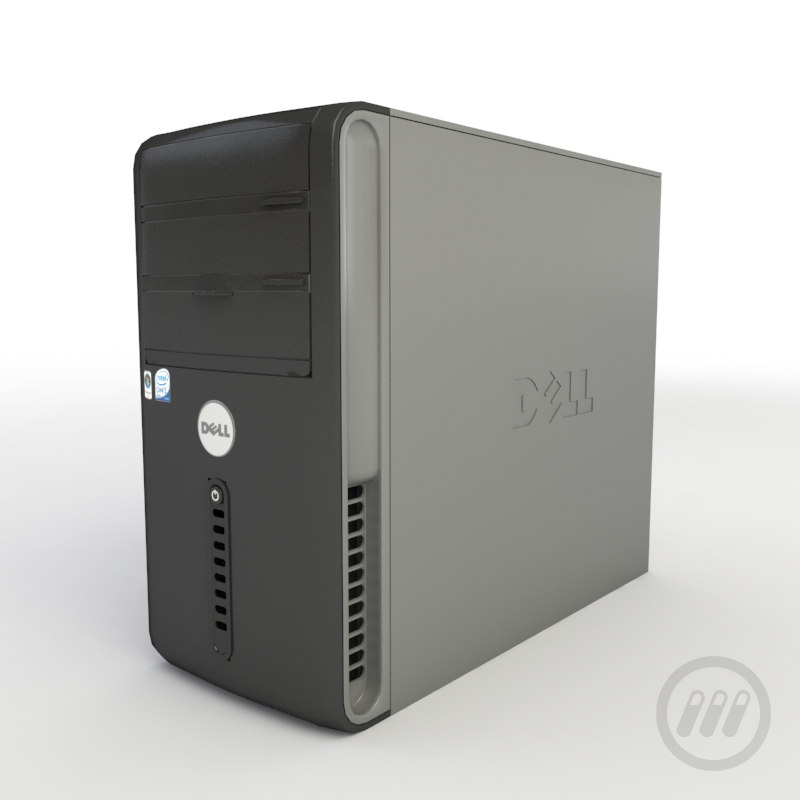 3d dell computer