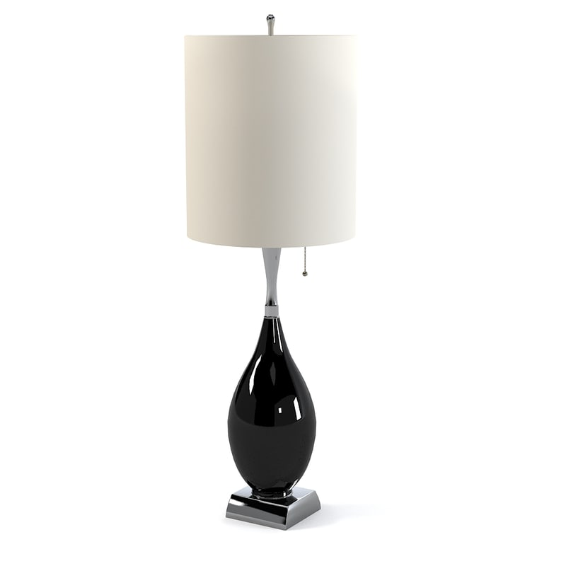 table lamp elegant 3ds
