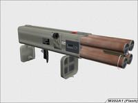 3d model m202a1 rocket