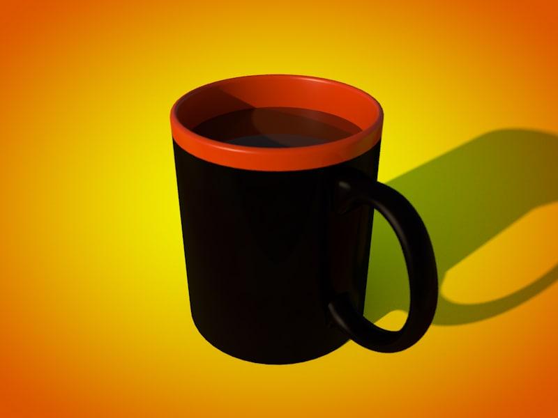 collectible mug c4d