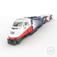 3dsmax tre train