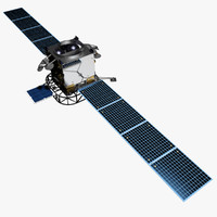 ultra follow-on satellite 3d model