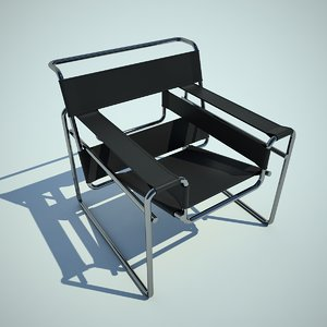 3d model wassily chair