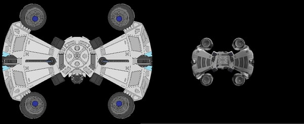 3ds max gunstar starfighter