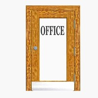 Office Door_rigged