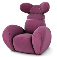 3d creative bunny chair