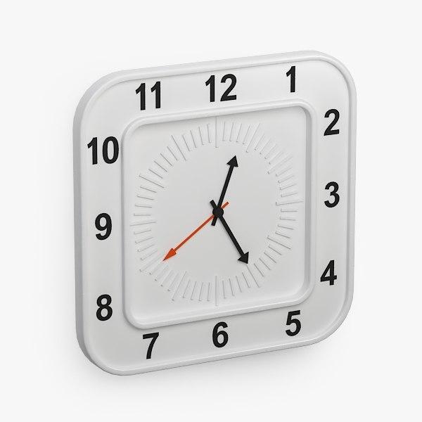 3d clock furniture furnishings