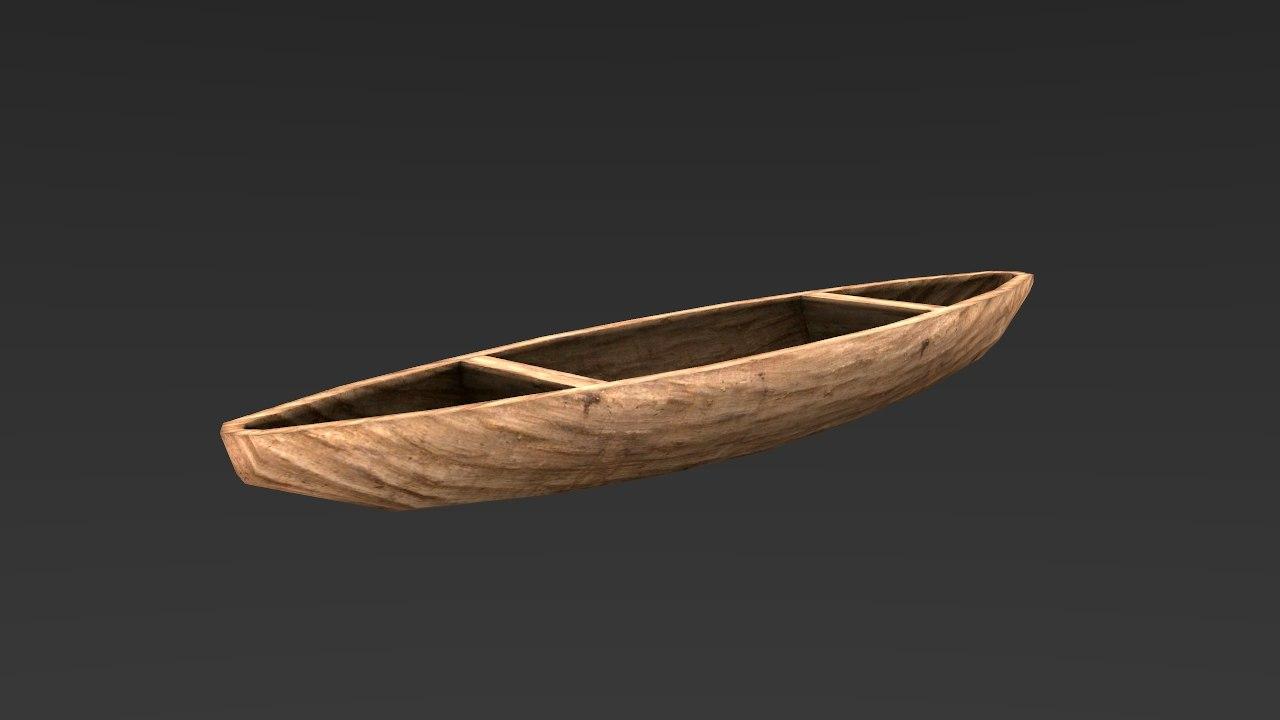 fishing boat ready 3d model