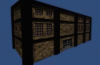 maya warehouse low-poly