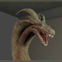 3d character dragons