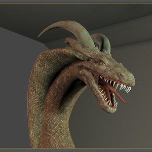 3d character dragons