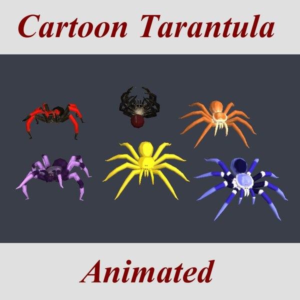 3ds max tarantula arachnid