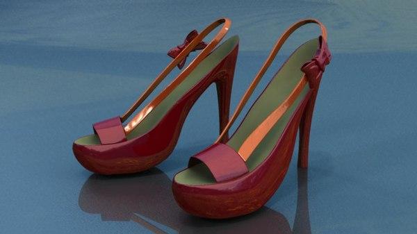 womens heels 3d ma