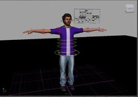 Jon rig with advance facial setup Maya2012