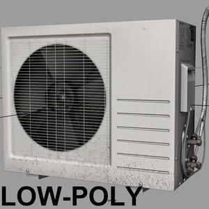 3ds max air conditioner