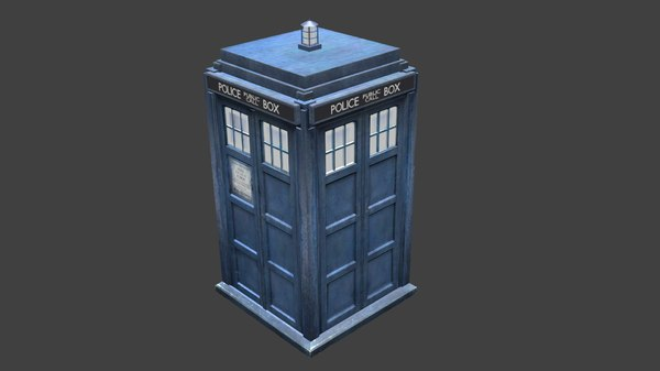doctor tardis 3d 3ds
